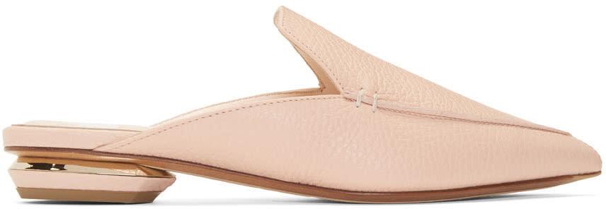 Nicholas Kirkwood Pink Leather Beya Mules