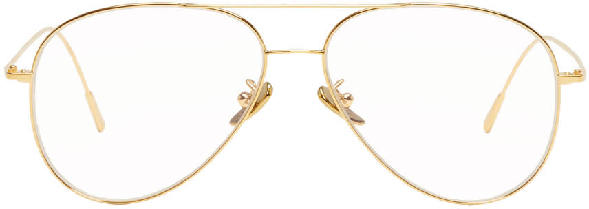 Image of Cutler And Gross Gold 1266 Glasses