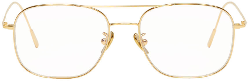 Image of Cutler And Gross Gold 1267 Glasses