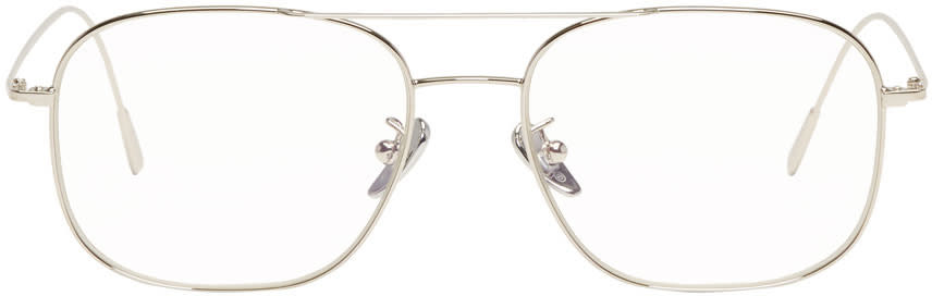 Image of Cutler And Gross Silver 1267 Glasses