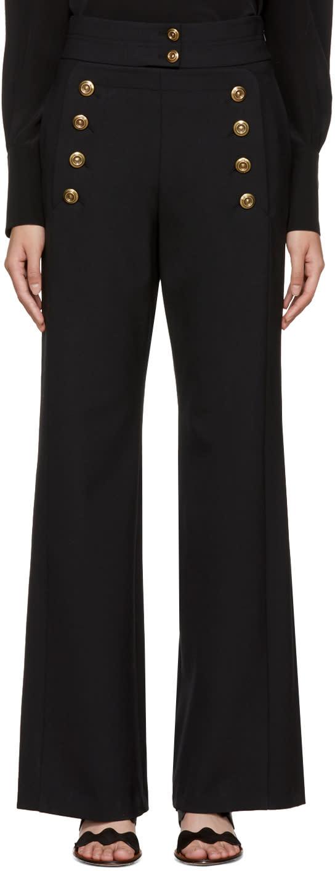 Chloé Black Sailor Trousers
