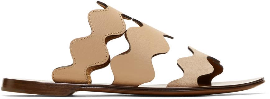 Chloe Pink Lauren Flat Sandals