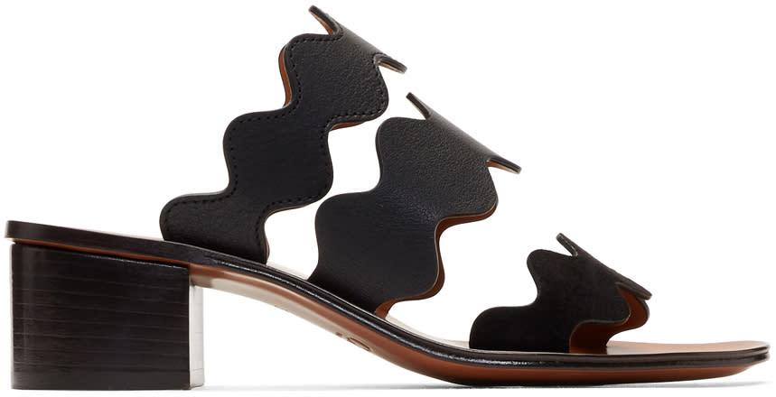 ChloéBlack Lauren Heeled Sandals