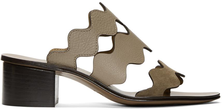 Chloe Grey Lauren Palmer Heeled Sandals