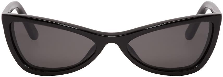 2fae0a6da2 Balenciaga Black Thin Cat eye Sunglasses