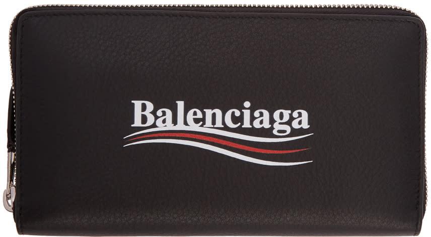 Balenciaga ブラック エブリデイ キャンペーン ウォレット