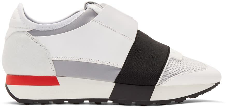Balenciaga ホワイト レース スニーカー