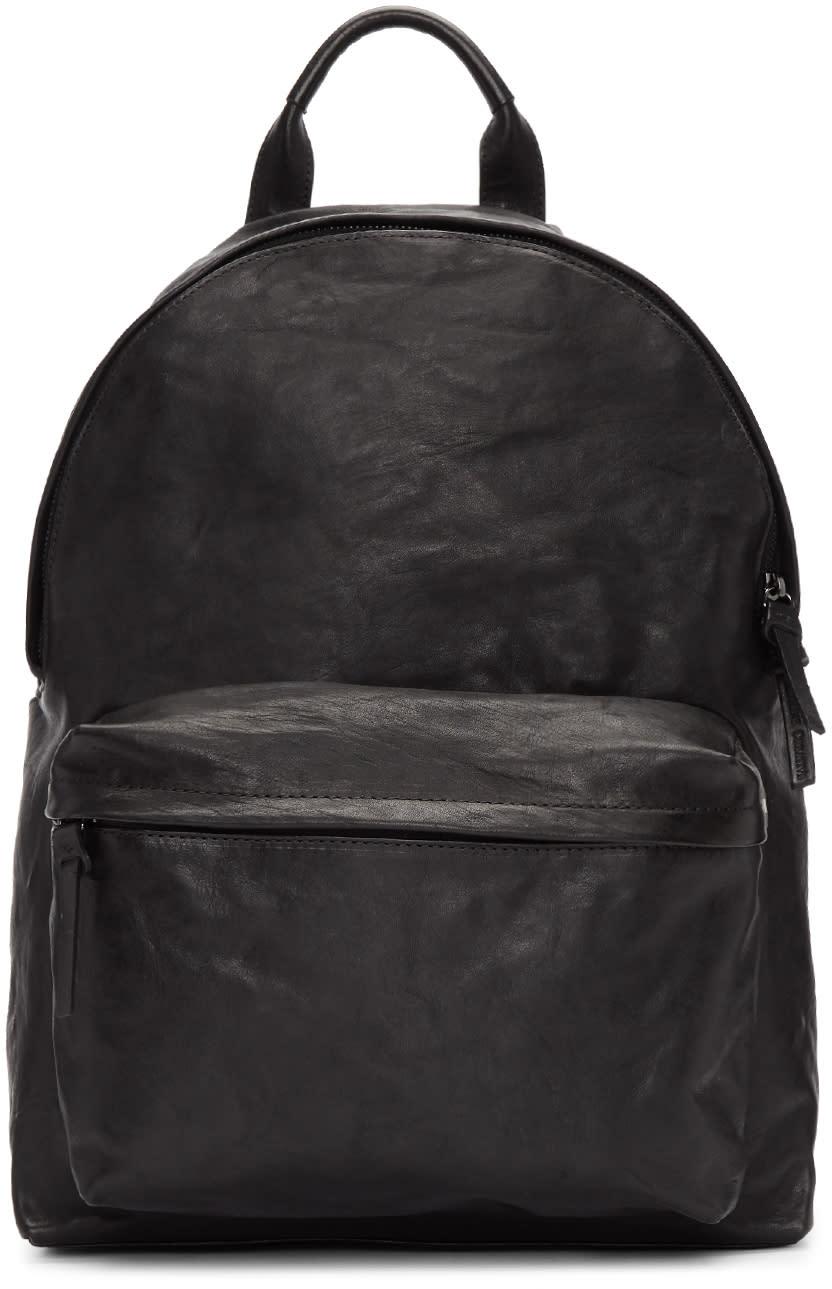 Image of Officine Creative Black Oc Pack Novak Backpack