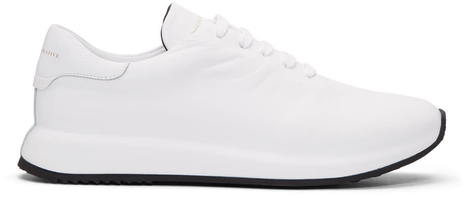 Officine Creative White Race 1 Sneakers
