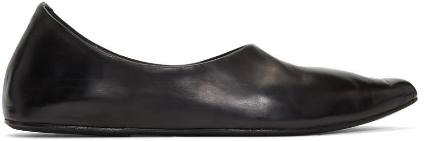 Marsell Black Stuzzicadente Ballerina Flats