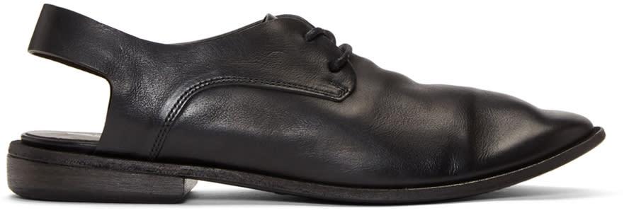 Marsell Black Beccuccio Oxfords