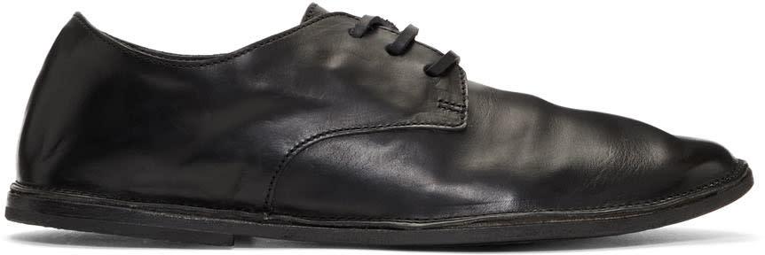Marsell Black Strasacco Oxfords