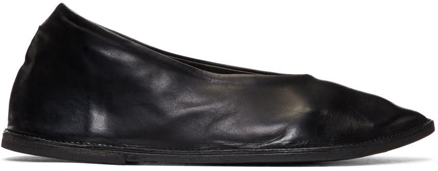 Marsell Black Sacchina Ballerina Flats