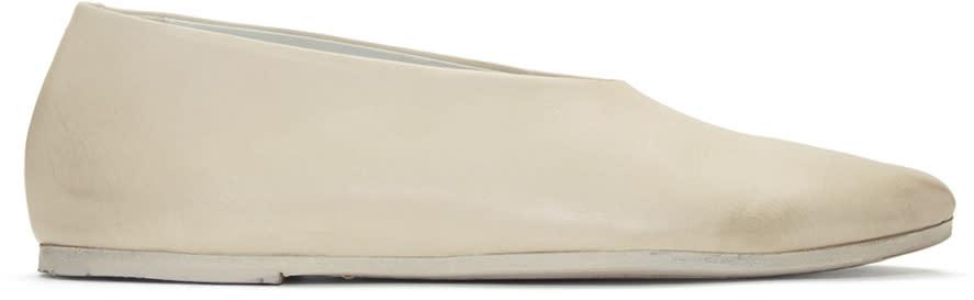 Marsell Off-white Cotellaccio Ballerina Flats