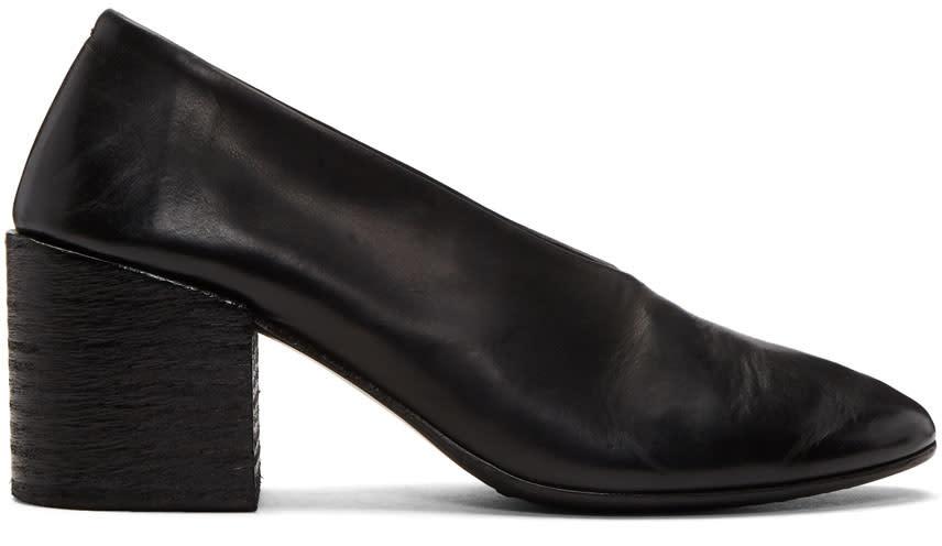 Marsell Black Cotello Heels