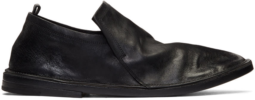 Marsell Black Tost Loafers