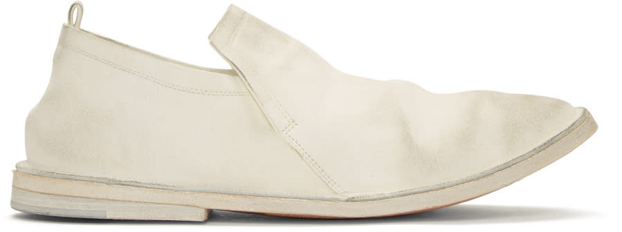 Marsell White Tost Loafers