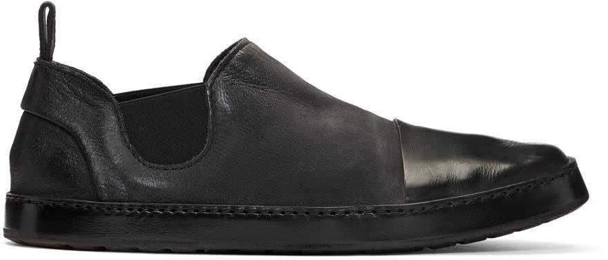 Marsell Black Cassata Loafers