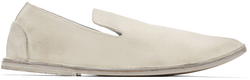 Marsell White Strasacco Loafers