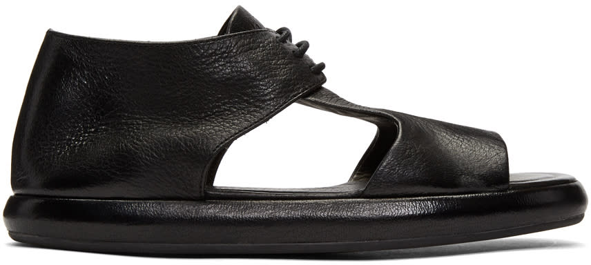 Marsell Black Ciambella Sandals