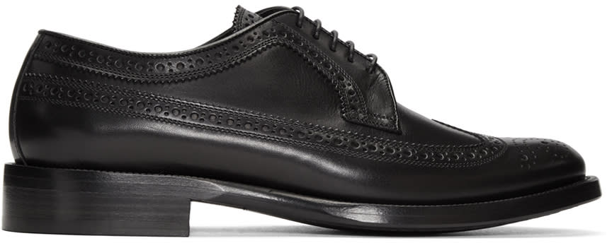 Burberry Black Aleighton Brogues