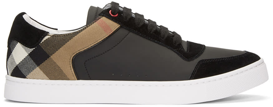 Burberry Black Reeth Sneakers