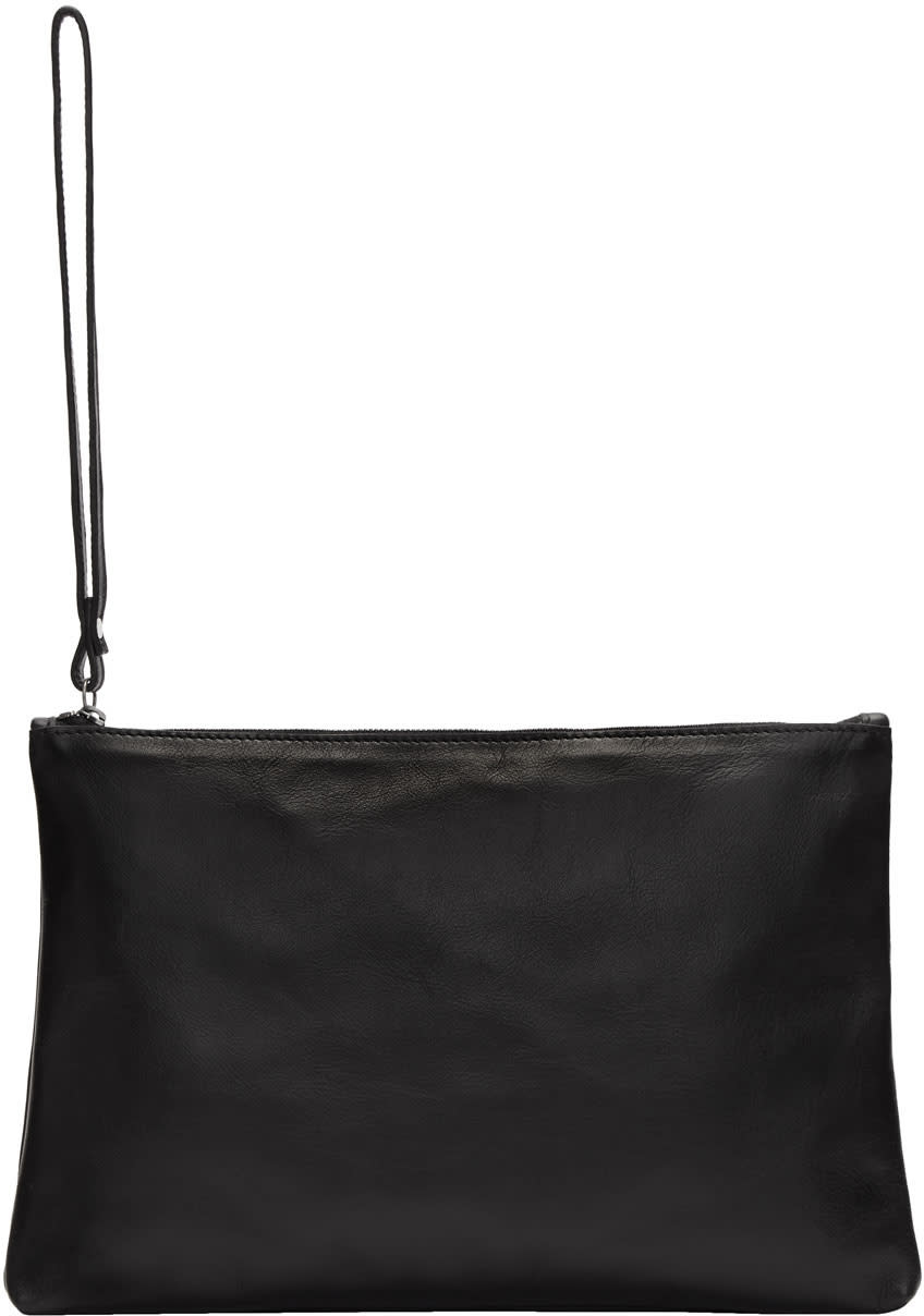 Image of Ann Demeulemeester Black Amon Pouch
