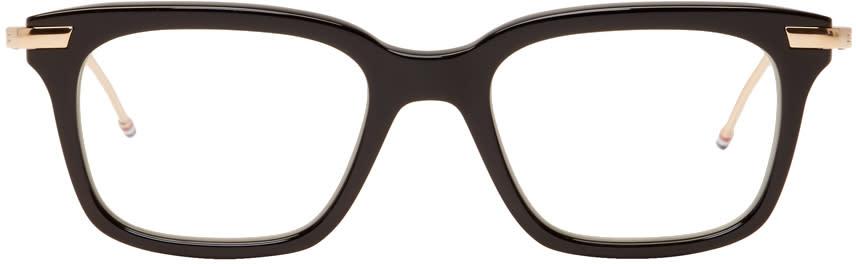 c913db9a3745 Thom Browne Black Tb 701 Glasses