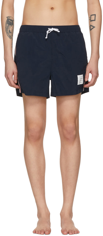 83d5ae6c29 Thom Browne Navy Classic Swim Shorts