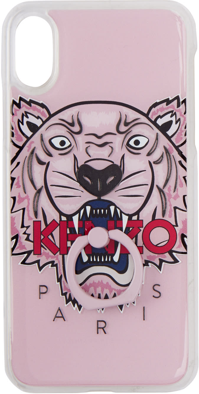 d5869c5c01 Kenzo Pink 3d Tiger Iphone X Case