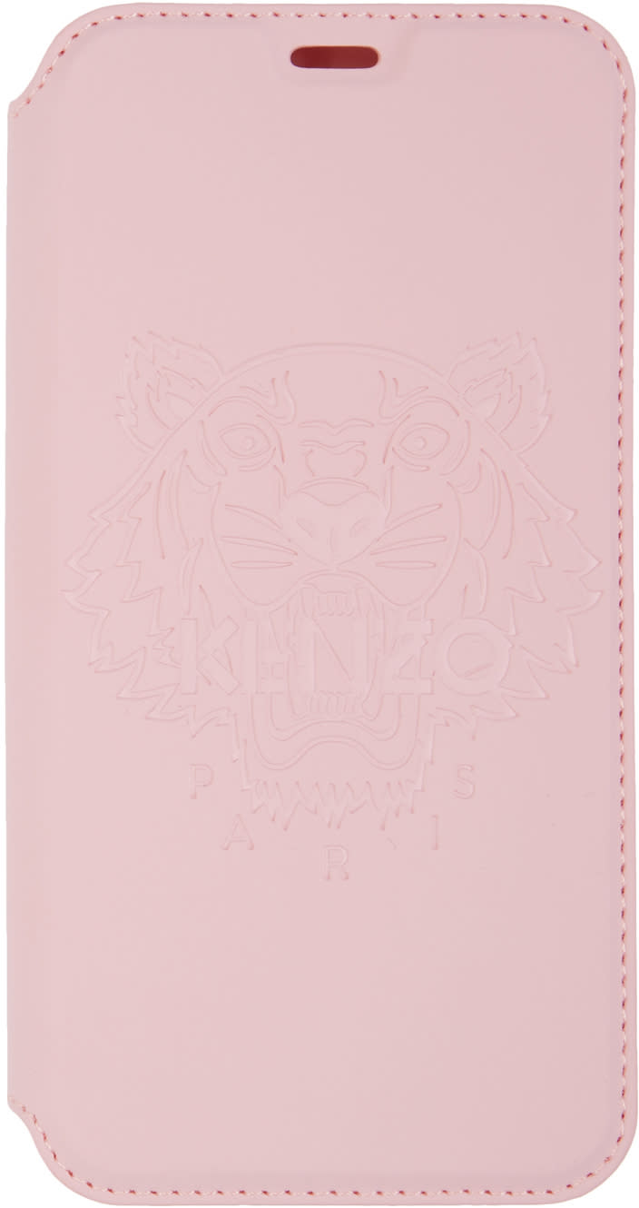74065b7f Kenzo Pink Tiger Iphone X Folio Case