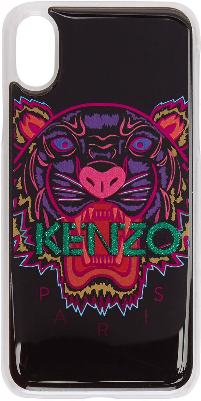 0b7dae50 Kenzo Black and Pink Tiger Iphone X Case