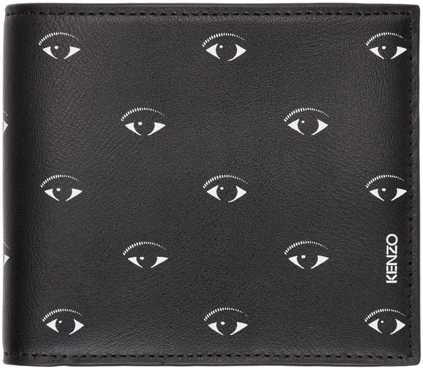 c187f81f Kenzo Black Multi Eye Wallet