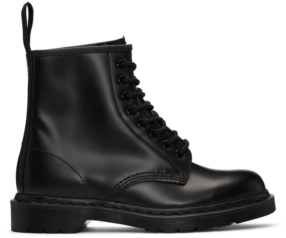 Dr. Martens Black 1460 Mono Lace-up Boots