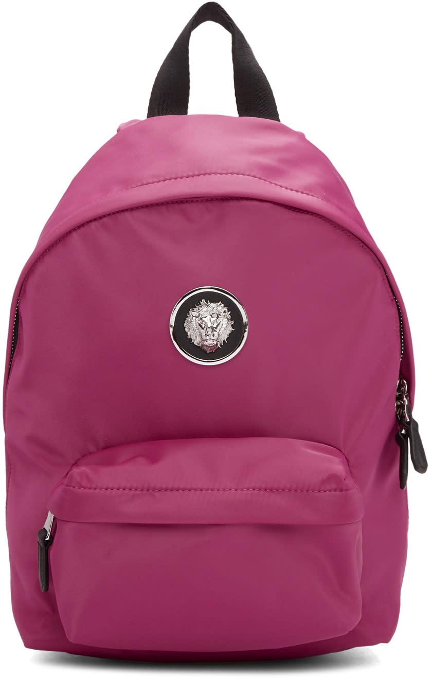 5ea2b6698cb3 Versus Pink Nylon Small Lion Backpack