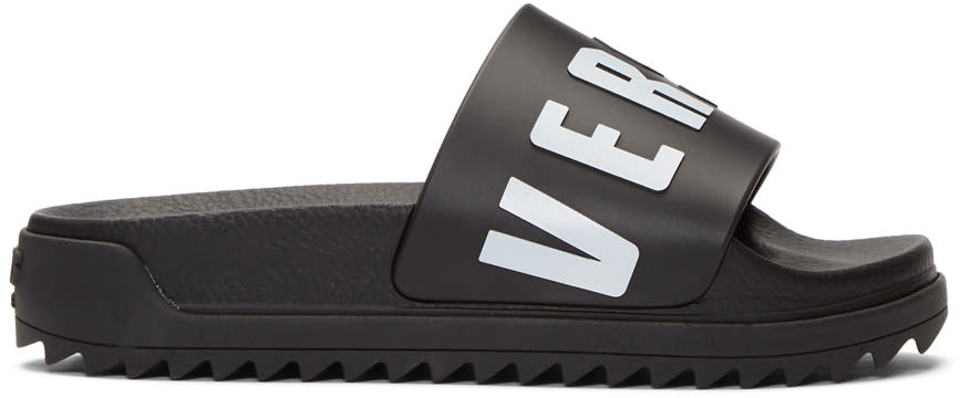 Versus Black Logo Slides