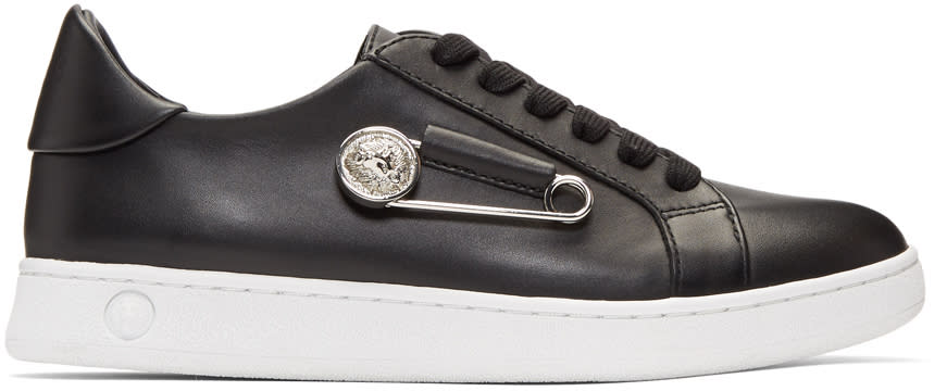 cheap for sale fashion style best website Versus Black Safety Pin Sneakers