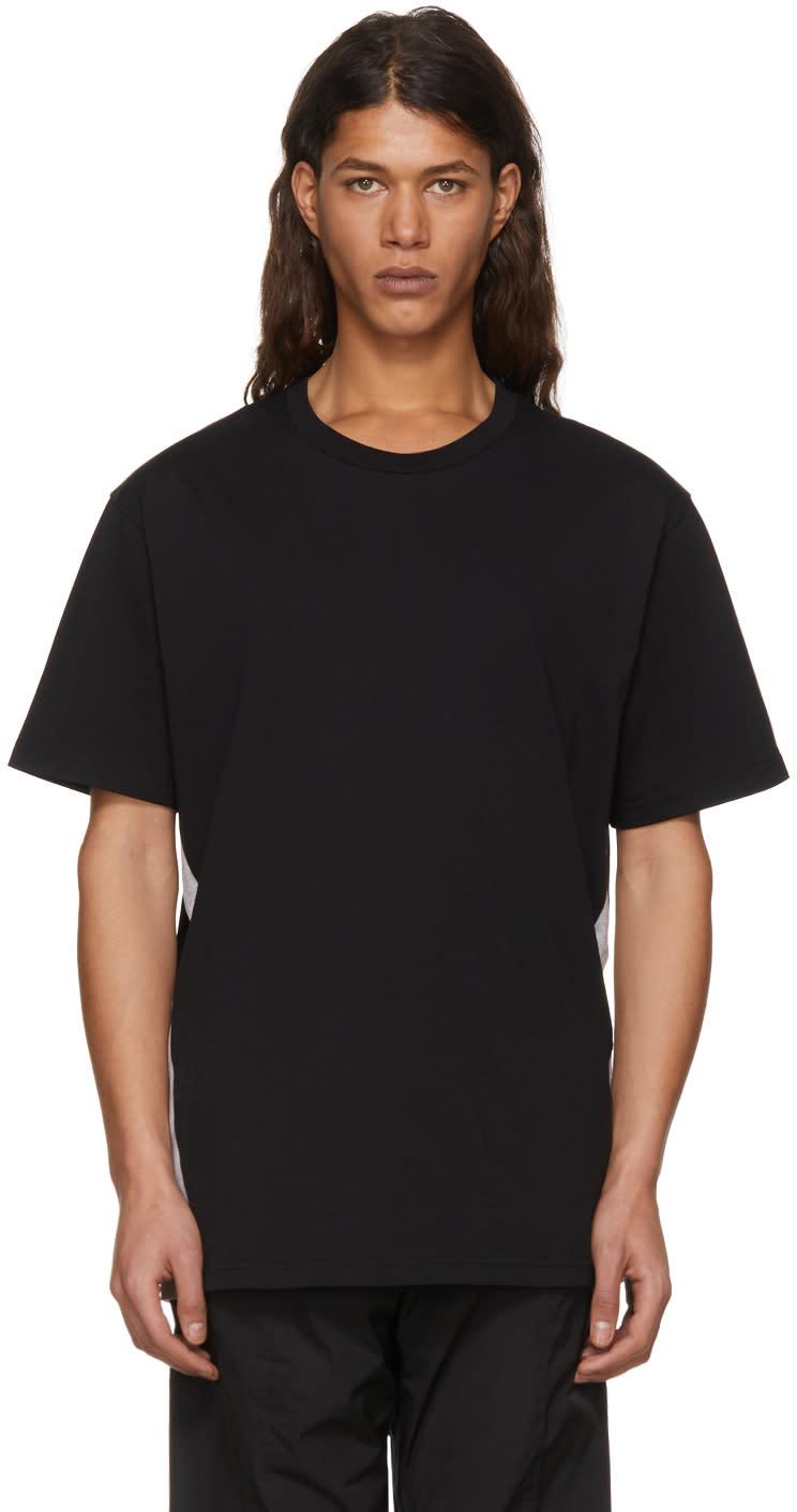 Image of Versus Black and Grey Logo T-shirt