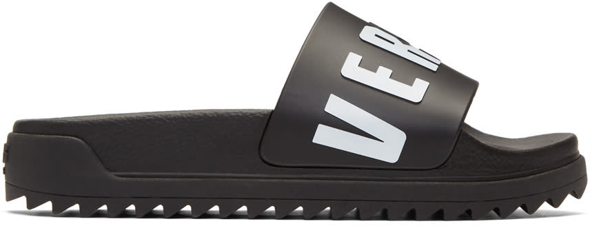Versus Black and White Logo Slides