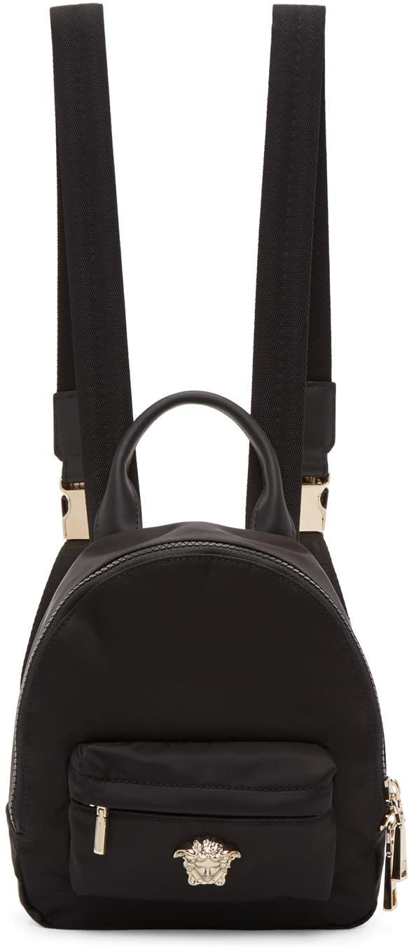 afc3f2062d Versace Black Mini Palazzo Backpack