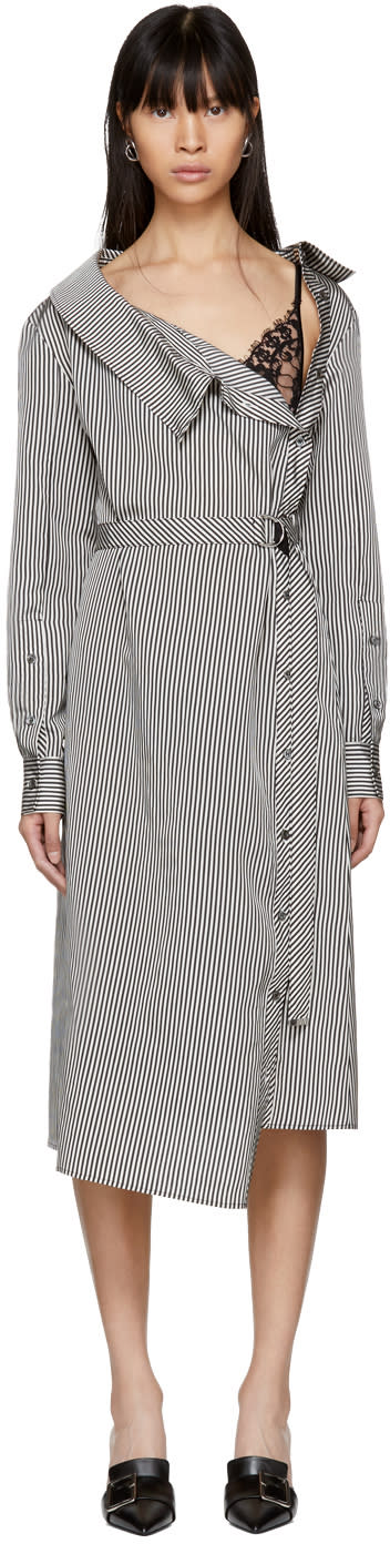Altuzarra Black and White Albany Dress