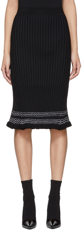 Image of Altuzarra Black Gwendolyn Skirt
