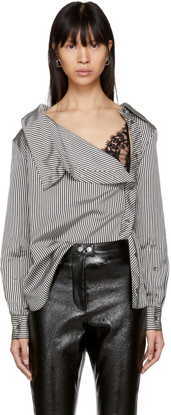 Image of Altuzarra Black and White Eileen Shirt