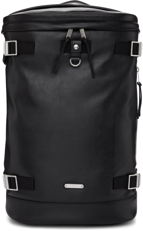 bdcc59ab9bdf Saint Laurent Black Leather Rivington Race Backpack