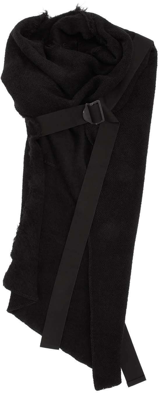 Image of Julius Black Fixed Twisted Stole