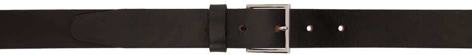 Ps By Paul Smith Black Blue Lining Belt