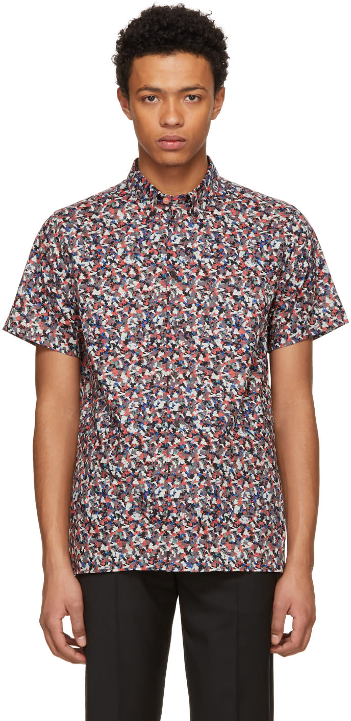 Ps By Paul Smith Multicolor Floral Shirt