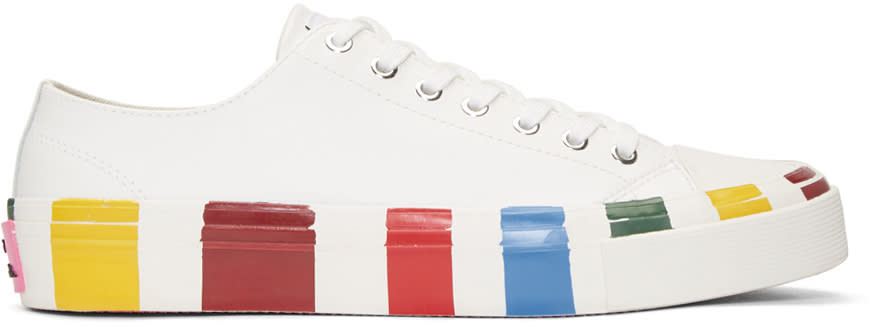 Ps By Paul Smith Off White Nolan Sneakers