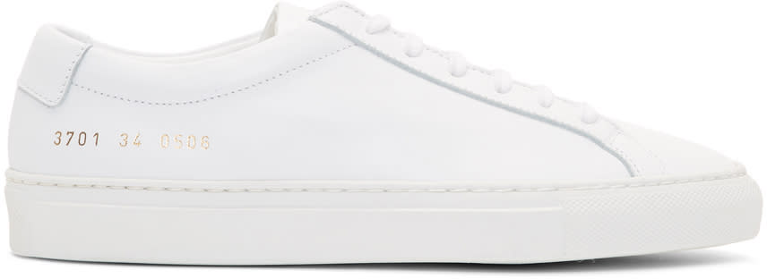 Woman By Common Projects Baskets Blanches Original Achilles Low