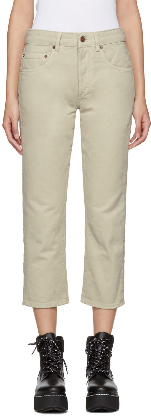 Image of 6397 Beige Shorty Jeans
